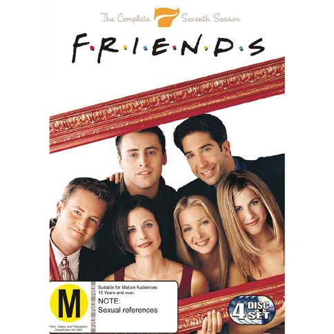 Friends Season 7 DVD 4Disc
