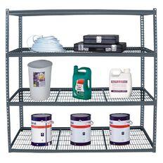 Work Tuff 4 Tier Shelf