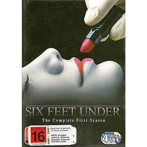 4DVD Six Feet Under Season 1