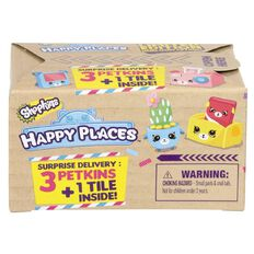 Shopkins Happy Places Delivery 3 Pack
