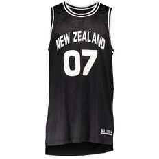 Active Intent Men's Basketball NZ Split Detail Singlet