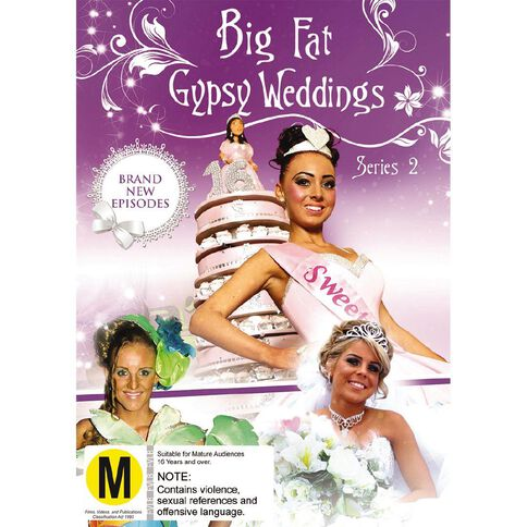 Big Fat Gypsy Weddings S2 DVD 2Disc