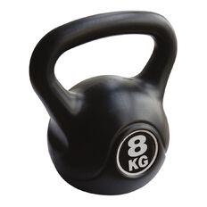 Basics Brand Plastic Kettlebell 8kg