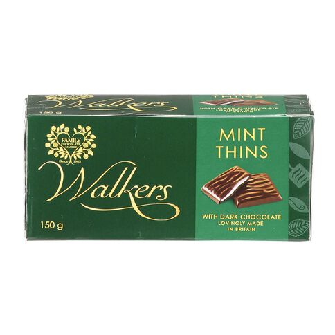 Walkers Mint Thins 150g