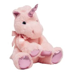 Unicorn Plush Pink 25cm