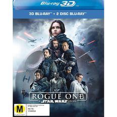 Rogue One A Star Wars Story 3D Blu-ray 3Disc