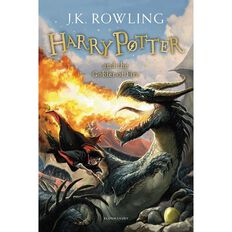 Harry Potter #4 The Goblet of Fire by JK Rowling