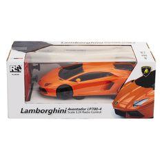 Lamborghini Aventador LP700-4 RC Car 1:24 Orange or Black Assorted