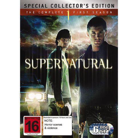 Supernatural Season 1 DVD 6Disc