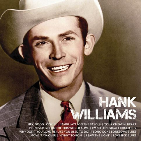 Icon CD by Hank Williams 1Disc