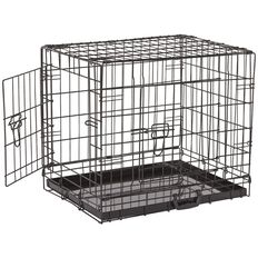 Petzone Pet Cage Black Medium