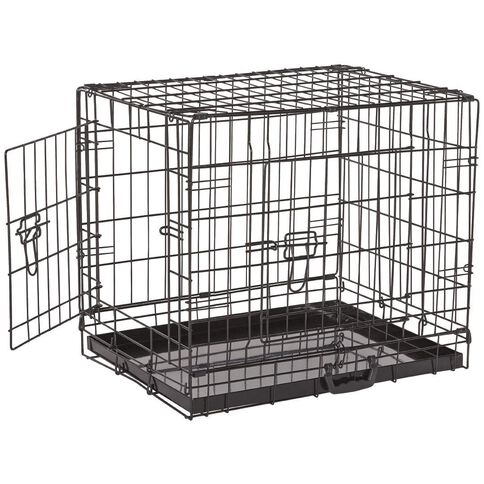 Petzone Pet Cage Black Medium