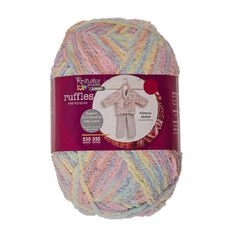 Knitwise Yarn Baby Ruffles Candy Jumbo 250g