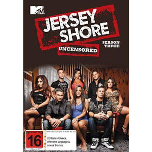 Jersey Shore Season 3 4DVD