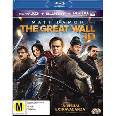 3D The Great Wall Blu-ray 2Disc