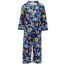 Mickey Mouse Toddler Boys' Flannelette Pyjamas