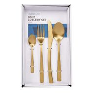 Living & Co Cutlery Gold Set 16 Piece