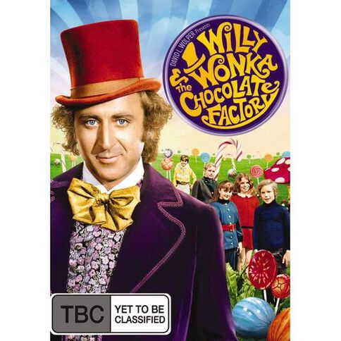 Willy Wonka Choc Factory DVD 1Disc