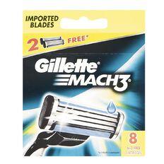 Gillette Mach 3 Blades 8 Pack