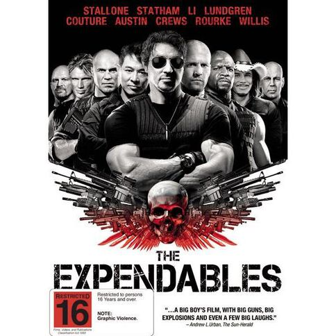 The Expendables DVD 1Disc