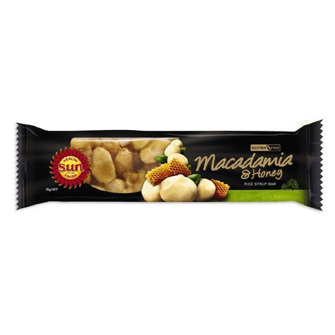 Sun Bar Macadamia and Honey Bar