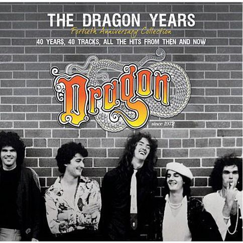 The Dragon Years 40th Anniversary by Dragon CD