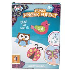 Craft Spot Foam Finger Puppet Kit