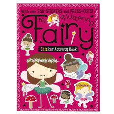 My Fluttering Fairy Sticker Activity Books