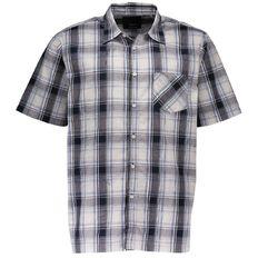 Match Short Sleeve Check Shirt