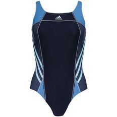 Adidas Women's Athletic Swimsuit Navy