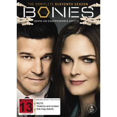 Bones Season 11 DVD 6Disc