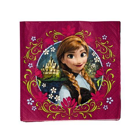 Disney Frozen Napkins 16 Pack