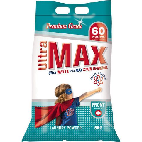 Ultra Max Front Loader Laundry Powder Bag 5kg