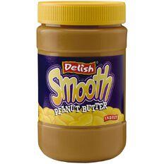 Delish Delish Smooth Peanut Butter 1kg