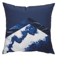 Living & Co West Bay Cushion Watercolour Tri