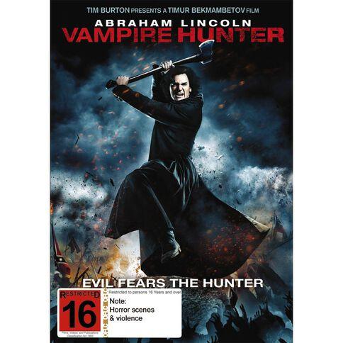 Abraham Lincoln Vampire Hunter DVD 1Disc