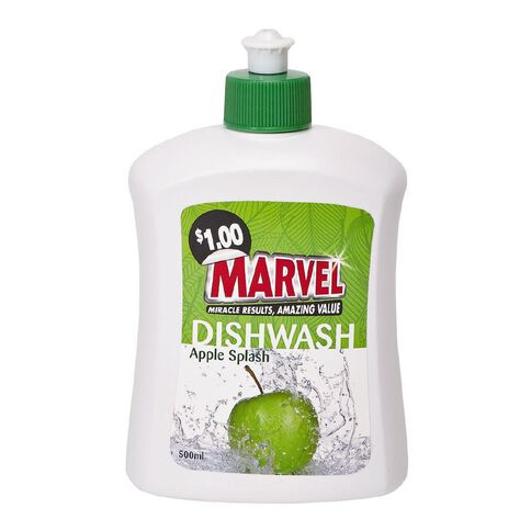 Marvel Dishwash Liquid Apple 500ml