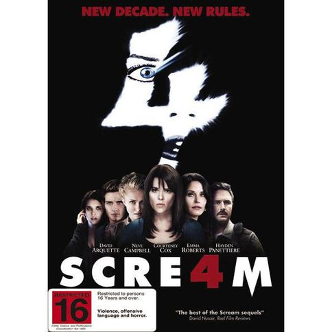 Scream 4 DVD 1Disc