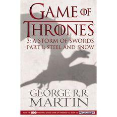 GOT #3 Storm of Swords TV Tie In Pt1 Steel & Snow by George R R Martin