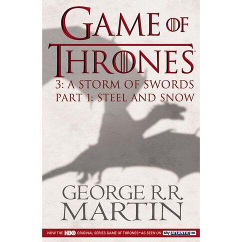 GOT #3 Storm of Swords TV Tie In Pt1 Steel & Snow by George R R Martin