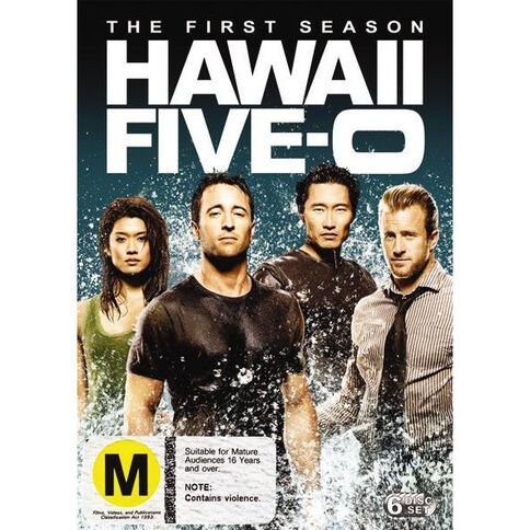Hawaii Five-O Season 1 DVD 6Disc