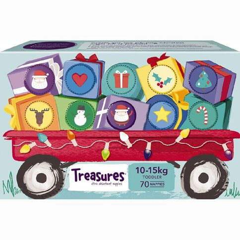 Treasures Jumbo Toddler 70 Pack