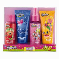 Shopkins Bath & Body Set 4 Piece