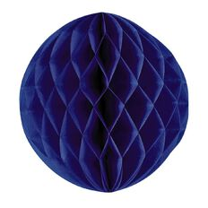 Party Inc Honeycomb Lantern Blue