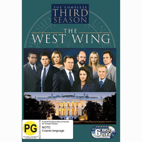 The West Wing Season 3 DVD 6Disc