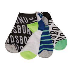 Bonds Boys' Fashion Trainer Socks 4 Pack