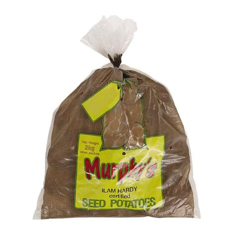 Murphy's Seed Potato Ilam Hardy 2kg Bag