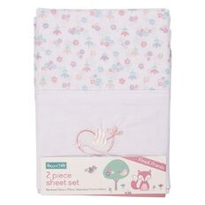 Rocco And Tolly Forest Friends Sheet Set 2 Pack