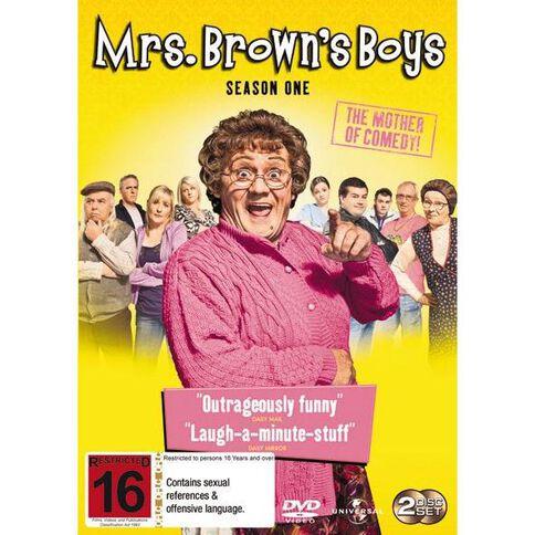 Mrs Browns Boys Season 1 DVD 2Disc