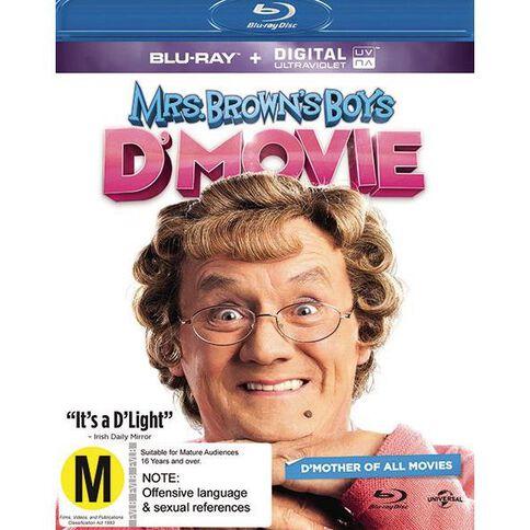 Mrs Browns Boys D Movie Blu-ray 1Disc